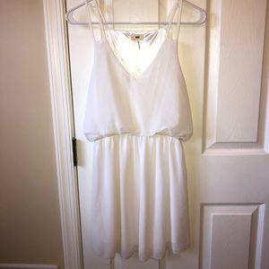 Tobi- never worn- white mini dress